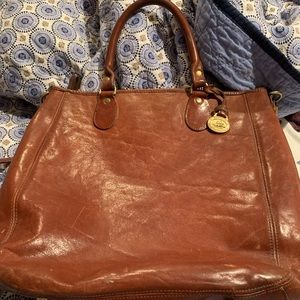Brahmin leather bag